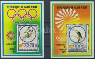 1972 Olimpiai aranyérmesek blokkpár Mi 7-8
