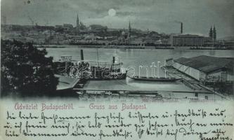 1899 Budapest, gőzhajó