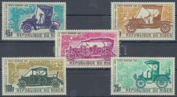 1969 Régi autók az 1900-1912-es évekből sor Mi 214-218