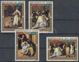 1972 Az UNICEF Velence megmentési est sor Mi 318-321