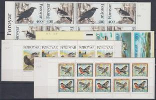 1985-1998 4 klf bélyegfüzet Mi MH 3, 12-13, 15