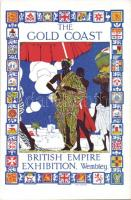 1924 The Gold coast, British Empire Exhibition, Wembley; Raphael Tuck & Sons s: Thos. Shepard