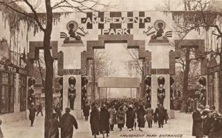 1924 Wembley, British Empire Exhibition, Amusement park