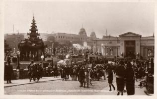 1924 Wembley, British Empire Exhibition, View from Old London Bridge