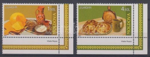 2005 Europa CEPT gasztronómia ívsarki sor Mi 511-512