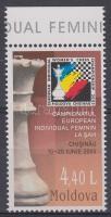 2005 Női sakk EB ívszéli bélyeg Mi 513