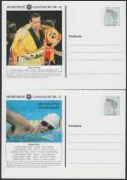 1996 Nyári olimpia 4 klf díjjegyes levelezőlap