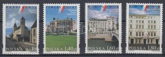1999 Lengyel múzeumok külföldön sor Mi 3801-3804