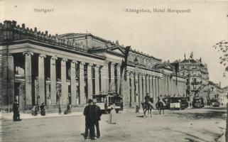 Stuttgart, Königsbau, Hotel Marquadt / building hotel