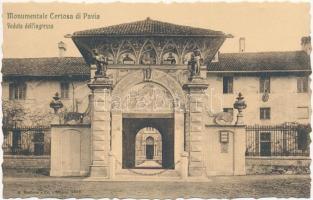 Pavia, monastery entrance