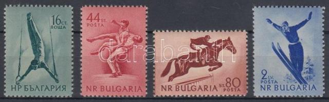 1954 Sportművészet sor Mi 928-931