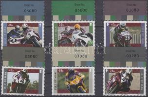 2005 Yamaha motorkerékpár-verseny ívszéli sor Mi 1211-1216