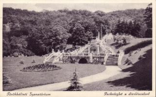 Törökbálint, Szanatórium, park, díszlépcső