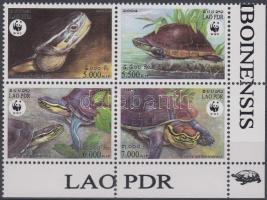 Turtles corner block of 4, Teknősbékák ívsarki négyestömb