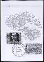 Néma Péter: A zilahi kiadás, szilágysági posta (Észak-Erdély) 1945 / Zilah issue, post in North-Transylavania 1945 (német nyelvű kézirat / German language)