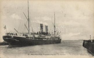 Nos Paquebots Transatlantiques, La Navarre / Transatlantic liners, the Navarre steamship