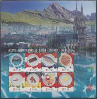 2006 Alpok-Adria 2004 kiállítás emlékív, rajta magyar zászló, pirospaprika Hungarika!