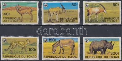 1979 WWF: Ritka állatok sor Mi 849-854