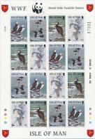 1989 WWF: Tengeri madarak kisív Mi 408-411