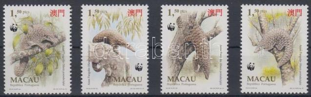 1995 WWF: Bengáli tobzoska sor Mi 795-798