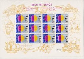 Space travels minisheet set, Űrutazások kisívsor