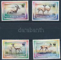 1998 WWF: Dorca gazella sor Mi 1460-1463