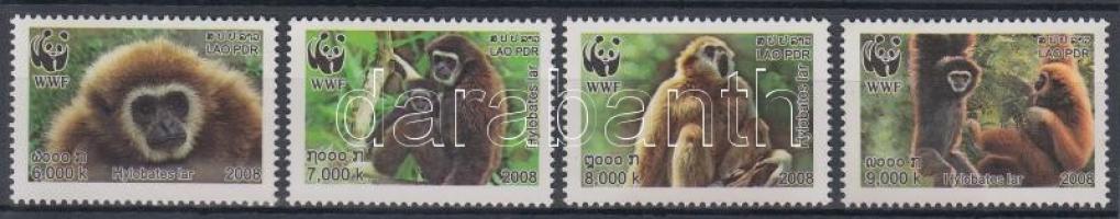2008 WWF: Gibbonok sor Mi 2062 A-2065 A