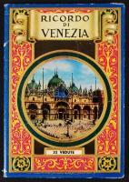 cca 1950 Velence leporello, 26 db képpel / cca 1950 Venice leporello, with 26 pictures
