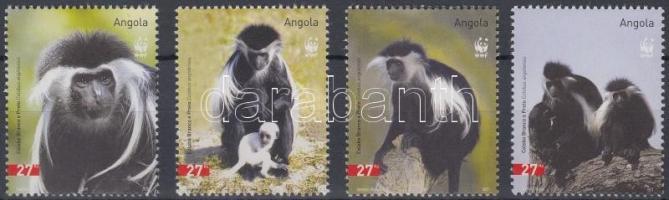 2004 WWF: Majmok sor Mi 1745-1748