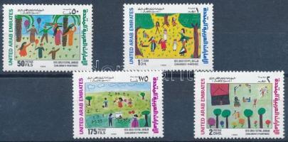 1994 Gyermekrajzok sor Mi 437-440