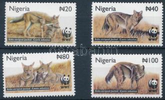 2003 WWF: Csíkos sakál sor Mi 762-765