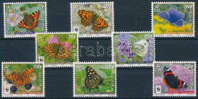 2011 WWF: Lepkék sor Mi 1667-1674