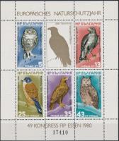 1980 Európai Természetvédelmi év blokk Mi 105