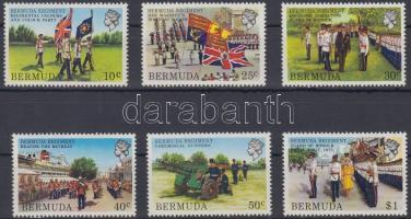 1982 Katonaság Mi 412-417