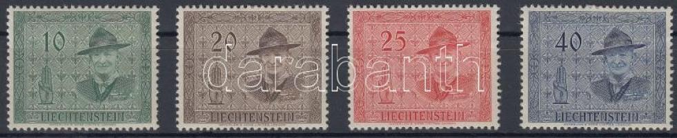 1953 Cserkész sor Mi 315-318