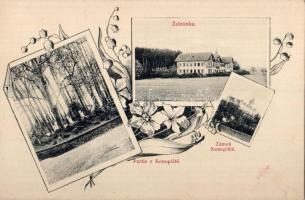 Benesov, Zámek Konopiste, Zeletinka / castle, floral