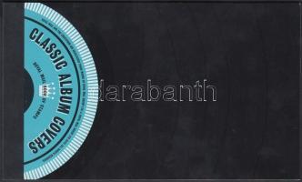 2010 Zenei albumborítók bélyegfüzet Mi MH 162