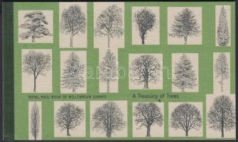 2000 II. Erzsébet királynő, fák bélyegfüzet Mi MH 139