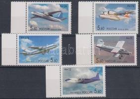2006 100 éve született Antonov ívszéli sor Mi 1295-1299