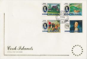 1984 Nemzetközi bélyegkiállítás sor FDC-n Mi 1010-1013