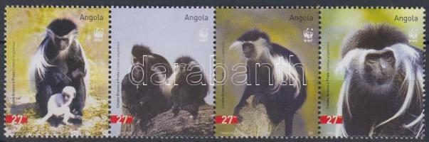 2004 WWF: Majmok négyescsík Mi 1745-1748