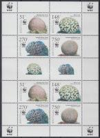 2005 WWF: Korallok kisív Mi 1401-1404