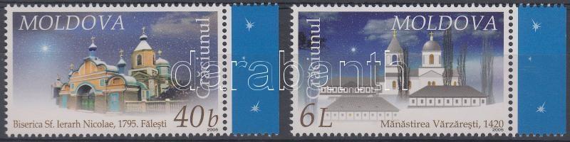 2005 Karácsony ívszéli sor Mi 533-534