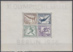 1936 Berlini olimpia blokk Mi 5 X