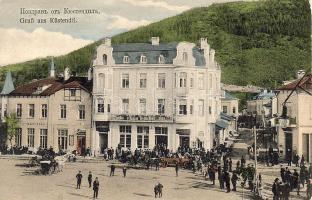 Kyustendil, Küstendil; shops, automobile