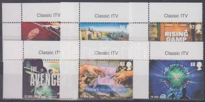 2005 50 éves a televíziózás ívsarki sor Mi 2332-2336