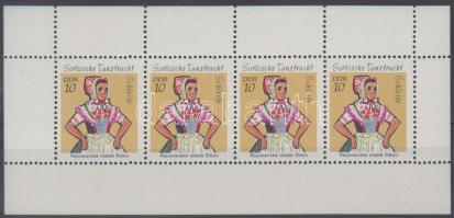 1971 Népviselet füzetlap Mi H-Blatt 12 I B