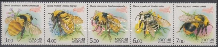 2005 Méhek ötöscsík Mi 1266-1270