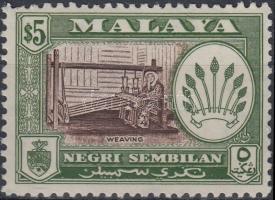Negeri Sembilan 1957 Mi 77C