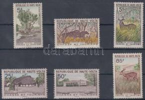 1962 Vadászat és turizmus Mi 102-107